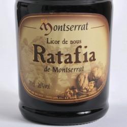 Licor Ratafía de Montserrat