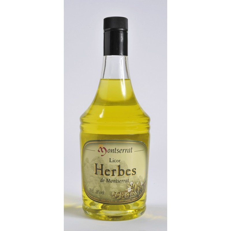 Licor Herbes de Montserrat