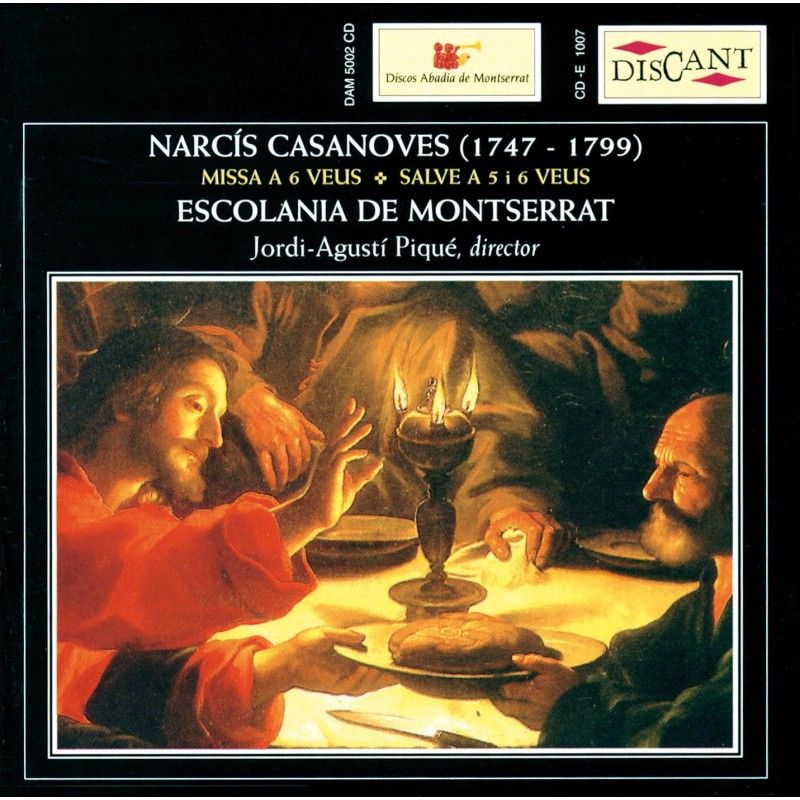 Narcís Casanoves. Mass at 6 voices. Salve at 5 and 6 voices.