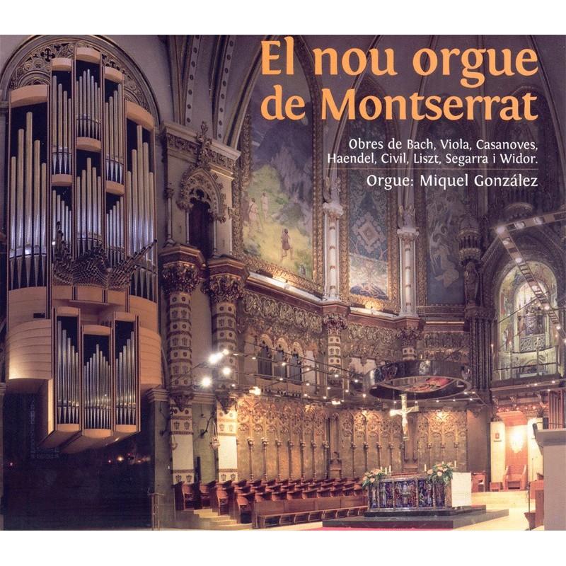 El nou orgue de Montserrat