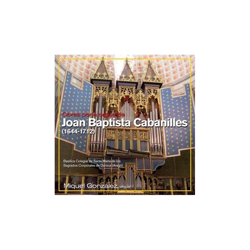Works of organ by Joan Baptista Cabanilles