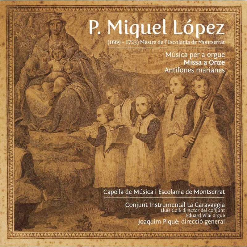 F. Miquel López. Music for organ