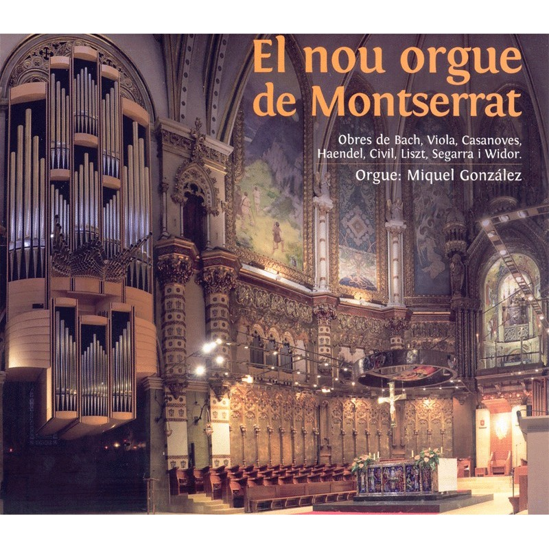 The new Montserrat's organ