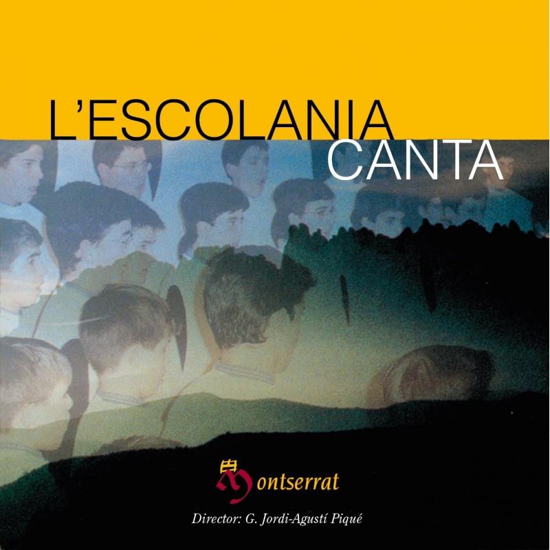 The Escolania sings