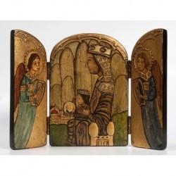 Tríptico de la Virgen de Montserrat