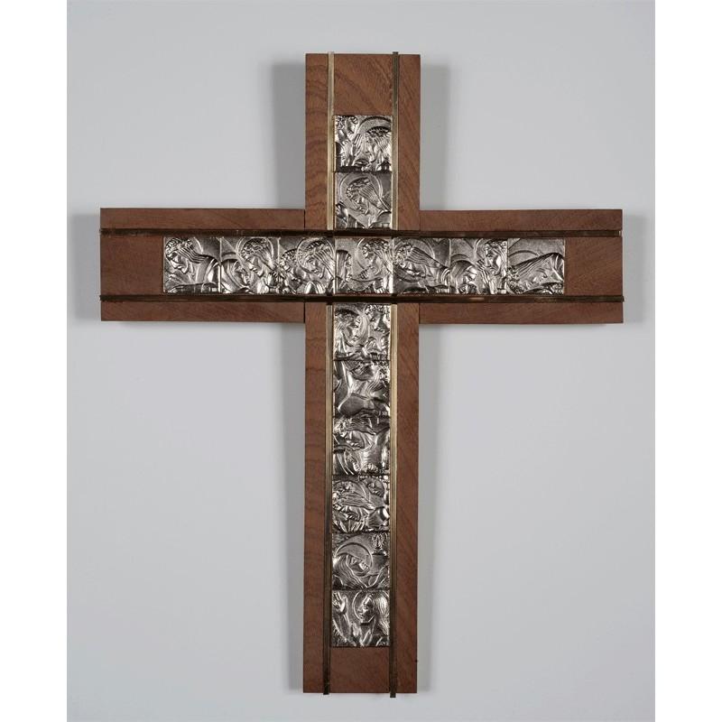 Cruz con Via Crucis