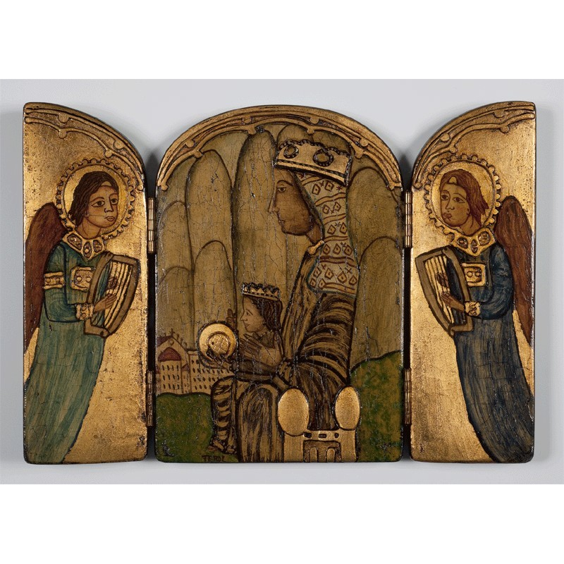 Tríptic de la Mare de Déu de Montserrat