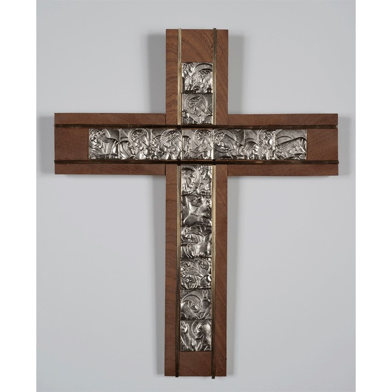 Cross with Stations of the Cross