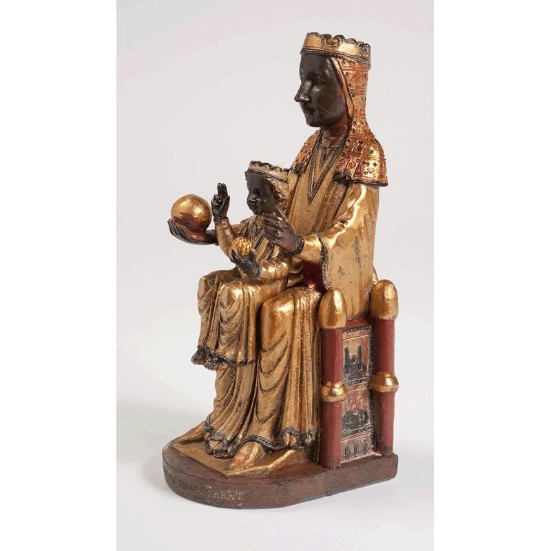 Imagen de la Virgen de Montserrat