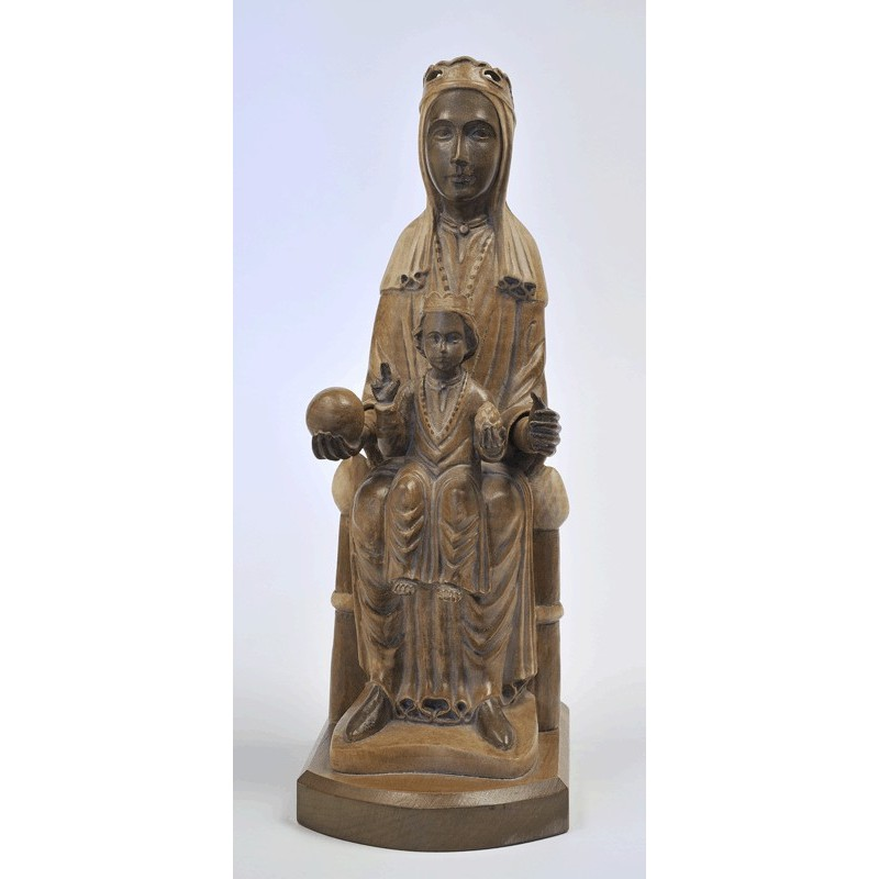 Our Lady of Monterrat's carving