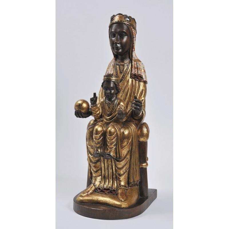 Talla de la Virgen de Montserrat