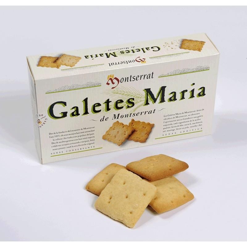 Galletas María de Montserrat