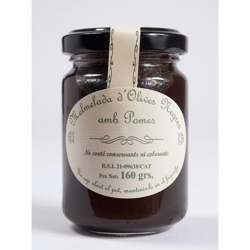 Black olive and Apple's Jam