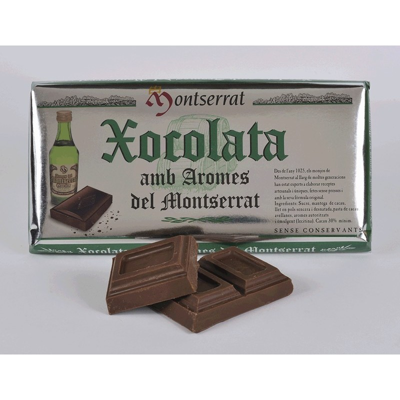 Bar of Chocolate with Aromes del Montserrat