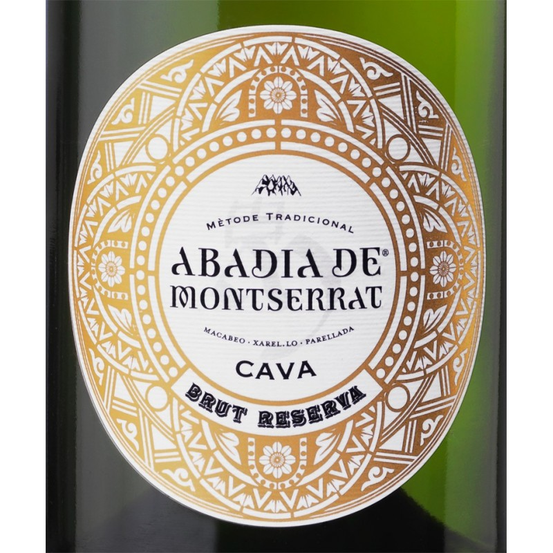 Cava ABADIA DE MONTSERRAT.       3 bottles