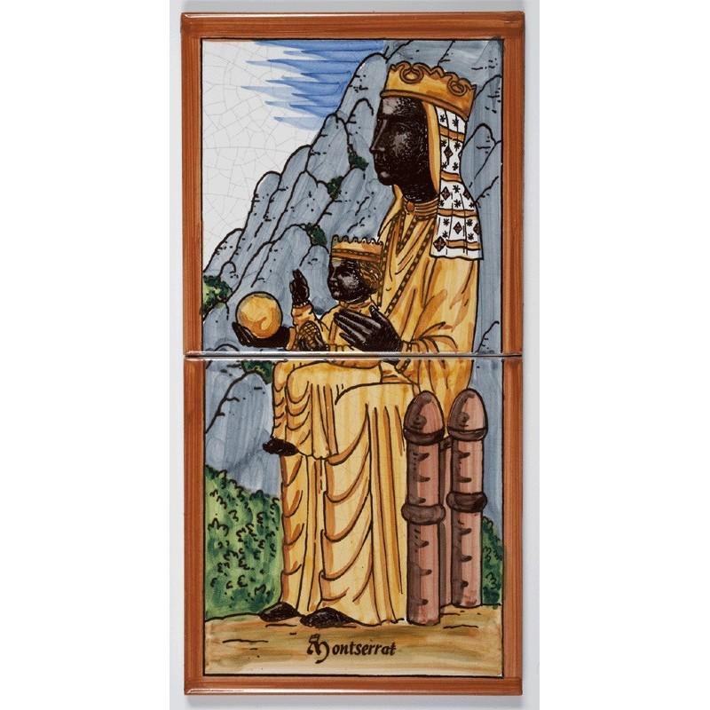 Tile of Our Lady of Montserrat