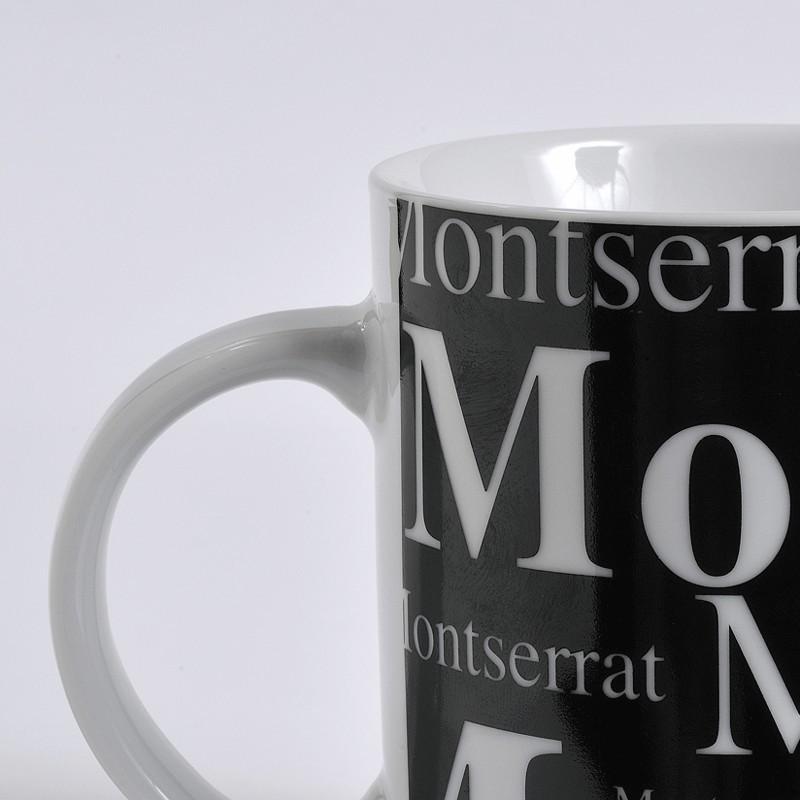 Tassa Montserrat fons negre