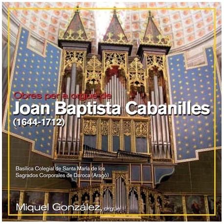 Obras para órgano de Joan Baptista Cabanilles