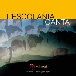 The Escolania sings