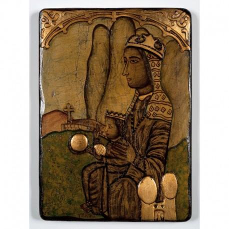 Icono de la Virgen de Montserrat