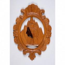 Plafón Virgen con marco