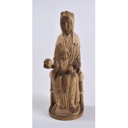 Our Lady of Montserrat's carving