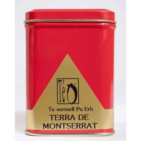 Té Rojo Pu Erh Tierra de Montserrat