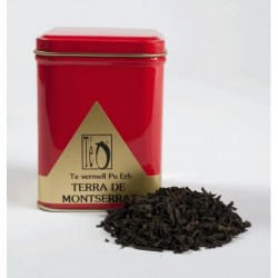Red Pu Erh Tea Montserrat Land