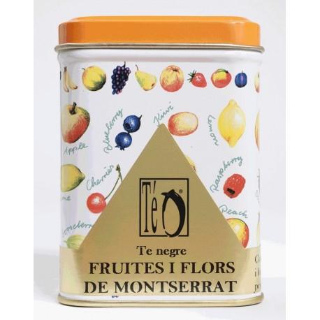 Té Negro Frutas y Flores de Montserrat