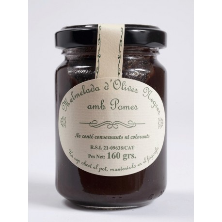 Black olive and Apple's Jam