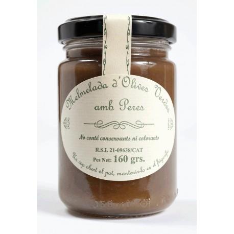 Melmelada d'Olives Verdes amb Pera
