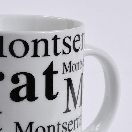 Montserrat cup white background