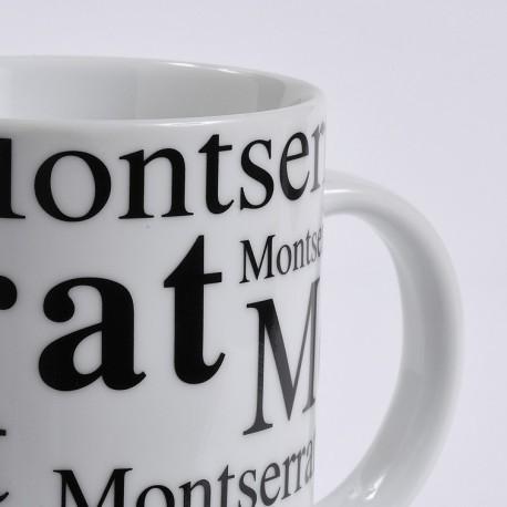 Taza Montserrat fondo blanco
