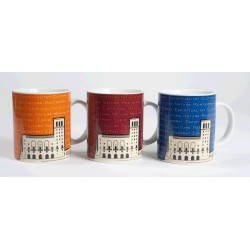 Montserrat Basilica Mug, navy blue colour