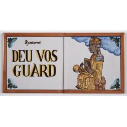 Rajola Déu Vos Guard amb Moreneta